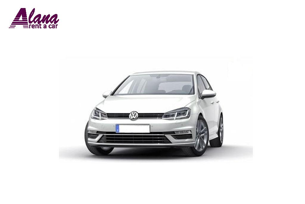 Inchirieri auto in VW Golf 7 Facelift Timisoara prin AlanaRent