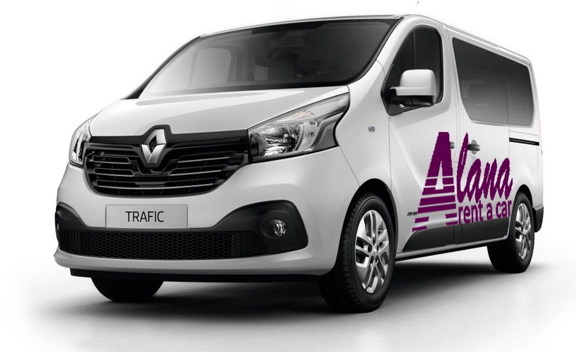 Rent a car Bucuresti Otopeni cu masina Renault Traffic