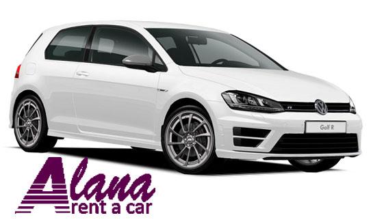 Rent a car Bucuresti Otopeni cu masina Volkswagen Golf 7