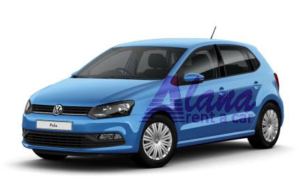 Rent a car Bucuresti Otopeni cu masina Volswagen Polo