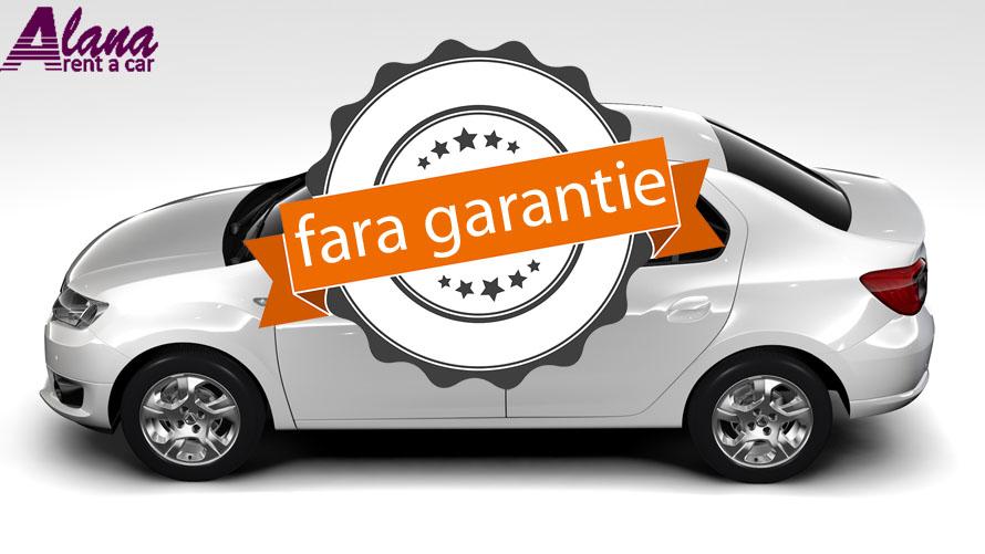 Dacia Logan inchiriata fara garantie in orasul Bucuresti prin AlanaRent